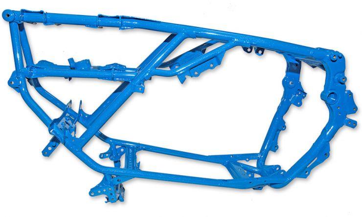 Windridge Coatings :: How to prepare quad/ATV frames for powder coating